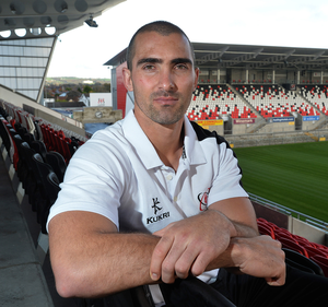 Starring role: Ruan Pienaar was integral to= Ulster's fightback against Oyonnax and hailed captain Rory Best's half-time team talk