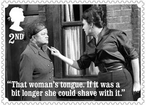 Ena Sharples and Elsie Tanner (Royal Mail)