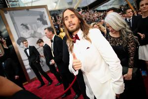 HOLLYWOOD, CA - MARCH 02:  Actor Jared Leto attends the Oscars held at Hollywood & Highland Center on March 2, 2014 in Hollywood, California.  (Photo by Christopher Polk/Getty Images)