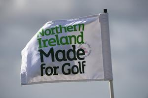 Golf in Northern Ireland has been continuing.