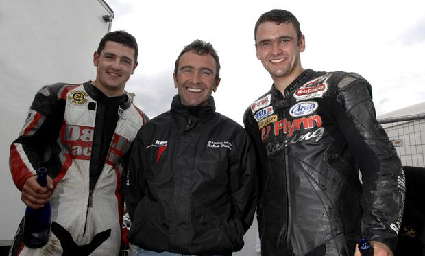 PACEMAKER, BELFAST,2007:  The Dunlop family enjoyed a winning day at teh Mid Antrim 150 with Michael, Dad Robert and William all winning a race apiece. PICTURE BY STEPHEN DAVISON