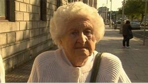 Anne Rudd had been given the satellite dish as a birthday present. She said she did not understand the warning letter. Image: RTE