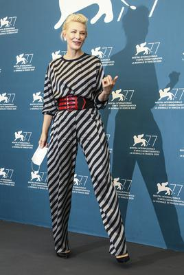 Cate Blanchett at the jury photo call during the 77th edition of the Venice Film Festival (Joel C Ryan/Invision/AP)