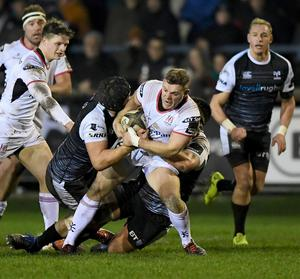 Ulster and the Ospreys prepare to do battle in tonight's opening Guinness PRO14 game at Kingspan Stadium (Inpho/Alex Davidson)