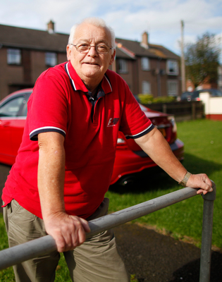 Staying strong: Joe Davison has got his life back on track thanks to the support of Respond