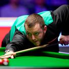 Horror show: Mark Allen fails to get going at Ally Pally