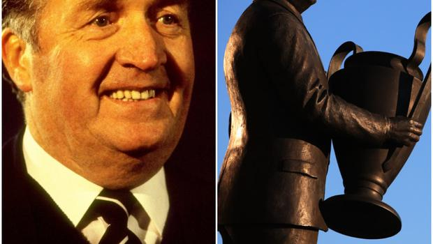 Remembering the same night is the statue of then manager Jock Stein, which stands alongside McNeill outside Celtic Park.