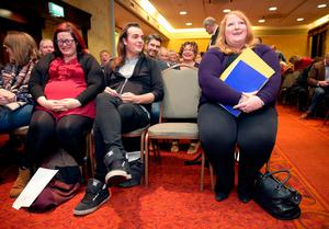 Alliance Party's deputy leader Naomi Long who is set to be elected as the new leader of the party at a special meeting of the party council in the Park Avenue Hotel, Belfast. PRESS ASSOCIATION Photo. Picture date: Wednesday October 26, 2016. See PA story ULSTER Alliance. Photo credit should read: Brian Lawless/PA Wire