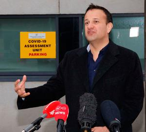 Leo Varadkar announced the Republic's lockdown exit plan last week. Credit: Leon Farrell/Photocall Ireland/PA Wire