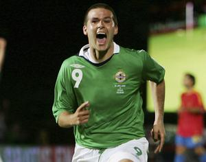 During a five year period, David Healy was one of the most lethal strikers in international football