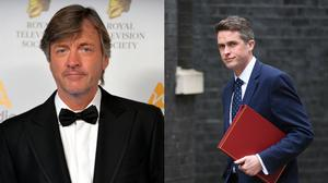 """GMB host Richard Madeley (left) said he was """"not sorry"""" he cut short an interview after Defence Secretary Gavin Williamson (right) dodged a question four times (Victoria Jones, Dominic Lipinski/PA)"""