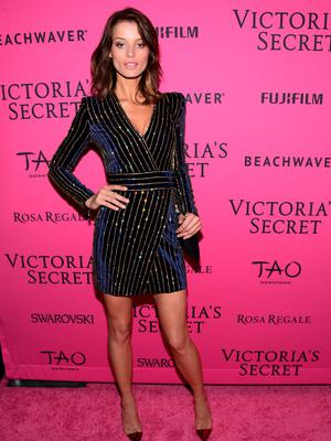 NEW YORK, NY - NOVEMBER 10:  Flavia Lucini attends the 2015 Victoria's Secret Fashion After Party at TAO Downtown on November 10, 2015 in New York City.  (Photo by Grant Lamos IV/Getty Images)