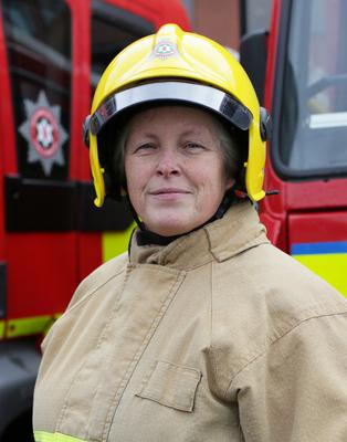 Heather Smart, Northern Irelands first female Firefighter- MBE for services to the advancement of women in the fire and rescue service.