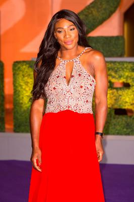 Serena Williams arriving at the Wimbledon Champions Dinner 2016, at the Guildhall, London. PRESS ASSOCIATION Photo. Picture date: Sunday July 10, 2016. Andy Murray claimed his second Wimbledon title after beating Milos Raonic in three sets. See PA story TENNIS Wimbledon. Photo credit should read: Dominic Lipinski/PA Wire