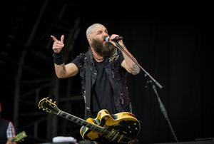 Rancid frontman Tim Armstrong onstage at the Ormeau Embankment, Belfast as support for Green Day. Wednesday 28th June 2017 Liam McBurney/RAZORPIX