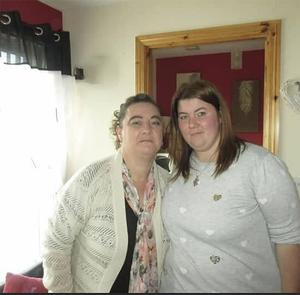 Easther McCook and her daughter Lisa Gemmell who were remanded into custody today (wed) accused of interfering in the investigation into the murder of Steven Peck.
