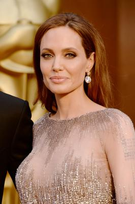 HOLLYWOOD, CA - MARCH 02:  Actress Angelina Jolie attends the Oscars held at Hollywood & Highland Center on March 2, 2014 in Hollywood, California.  (Photo by Jason Merritt/Getty Images)