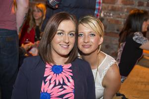 The dirty onion beer garden pictured Emma McGreevey and Ashleigh McCrellis