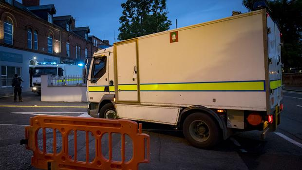 Police and ATO at the scene of a security alert in the Ravenhill Avenue area of Belfast on July 11th 2018 (Photo by Kevin Scott for Belfast Telegraph)