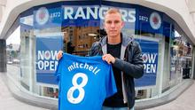 Great experience: Andy Mitchell spent three and a half years at Rangers before moving back to the Irish League. Photo: Jonathan Porter/Presseye