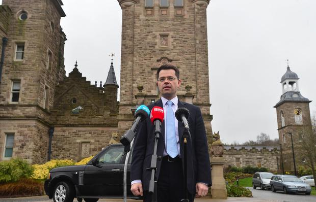Secretary of State James Brokenshire pictured at Sormont Castle in Belfast. Picture By: Arthur Allison. Pacemaker Press Belfast