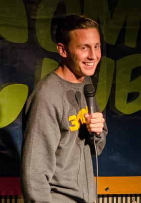 Comedy gold: Shane Todd plays the Out To Lunch Festival
