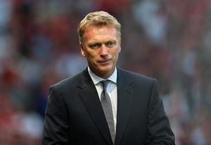 MANCHESTER, ENGLAND - AUGUST 26:  Manchester United Manager David Moyes looks on prior to the Barclays Premier League match between Manchester United and Chelsea at Old Trafford on August 26, 2013 in Manchester, England.  (Photo by Alex Livesey/Getty Images)