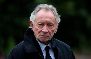 Musician Phil Coulter attends the funeral of  Dr Edward Daly at St Eugene's Cathedral in Londonderry. PRESS ASSOCIATION Photo. Picture date: Thursday August 11, 2016. The former Bishop of Derry who came to the aid of a dying civil rights protester on Bloody Sunday and waved a white handkerchief in an enduring image of the Troubles died on Monday aged 82.  See PA story ULSTER Daly. Photo credit should read: Niall Carson/PA Wire