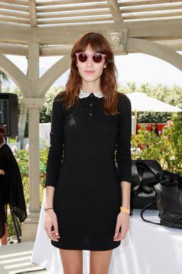 THERMAL, CA - APRIL 13:  DJ Alexa Chung attends LACOSTE L!VE Desert Pool Party In Celebration Of Coachella on April 13, 2013 in Thermal, California.  (Photo by Joe Scarnici/Getty Images for LACOSTE)