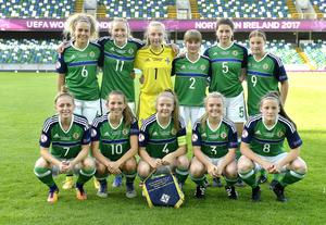 It had begun for the Spanish against this lot - the Northern Ireland team - who fittingly played the would-be winners on the opening day at the National Stadium at Windsor Park.