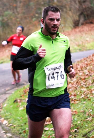 Mandatory Credit - Picture by Freddie Parkinson/Press Eye © Saturday 3rd December 2016 Belfast Telegraph Run Forest Run Loughgall. Loughgall Country Park, 11-14 Main Street, Loughgall, Armagh.  Anthony Mccullough 10K Belfast
