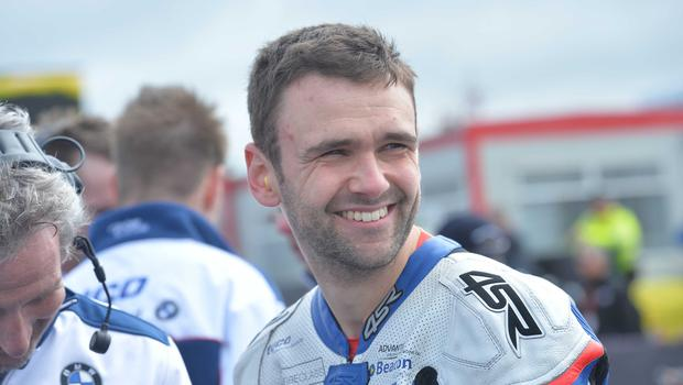 PACEMAKER BELFAST  12/05/2015 William Dunlop (Tyco BMW Motorrad Racing) during Tuesday's practice for the North West 200 Road races. Photo Stephen Davison/Pacemaker Press