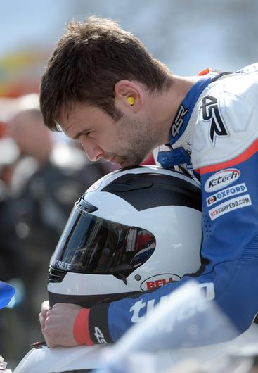 PACEMAKER, BELFAST, 1/5/2015: William Dunlop during Tandragee 100 practice. PICTURE BY STEPHEN DAVISON