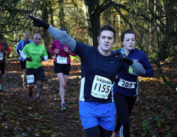 Mandatory Credit - Picture by Freddie Parkinson/Press Eye © Saturday 19th November 2016 Belfast Telegraph Run Forest Run Drum Manor Forest Park, Drum Road, Cookstown BT80 9RT Chris Weeks Armagh