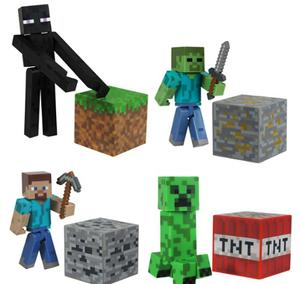 Minecraft Figures (Assorted) from Character Options
