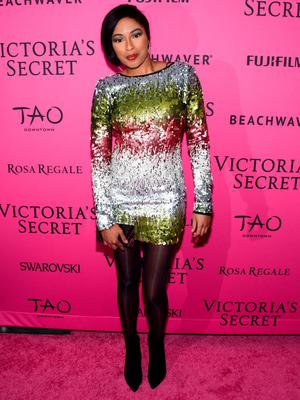 NEW YORK, NY - NOVEMBER 10:  Alicia Quarles attends the 2015 Victoria's Secret Fashion After Party at TAO Downtown on November 10, 2015 in New York City.  (Photo by Grant Lamos IV/Getty Images)