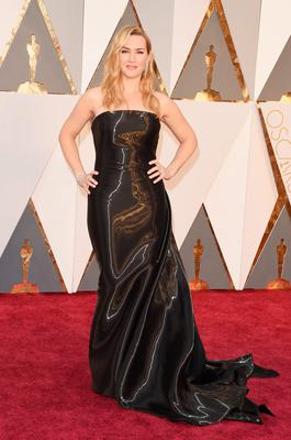 HOLLYWOOD, CA - FEBRUARY 28:  Actress Kate Winslet attends the 88th Annual Academy Awards at Hollywood & Highland Center on February 28, 2016 in Hollywood, California.  (Photo by Jason Merritt/Getty Images)