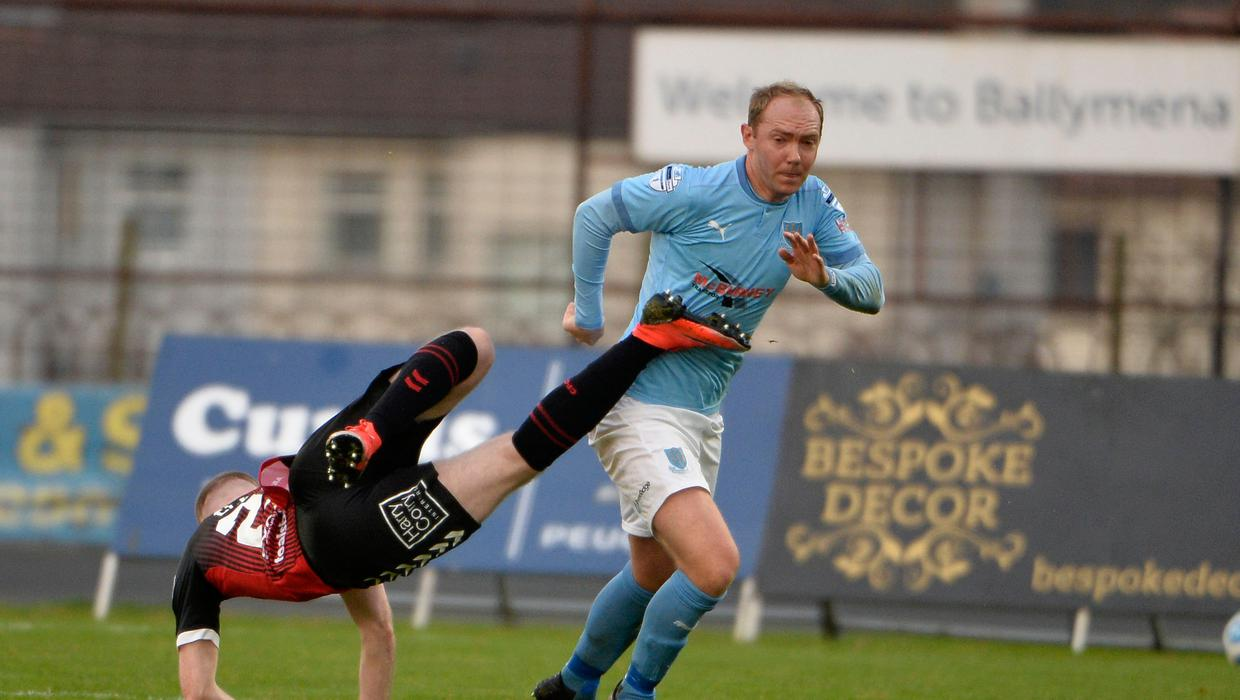 Ross Redman is proving doubters wrong, says Ballymena United chief -  BelfastTelegraph.co.uk