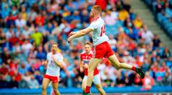 Triple target: Cathal McShane could yet end the season with three honours