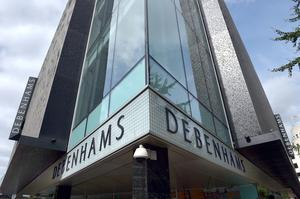 Debenhams is closing seven shops after sliding into administration (PA)