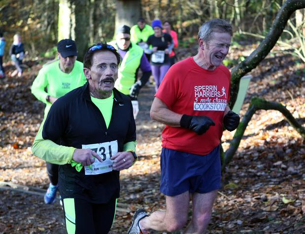 Mandatory Credit - Picture by Freddie Parkinson/Press Eye © Saturday 19th November 2016 Belfast Telegraph Run Forest Run Drum Manor Forest Park, Drum Road, Cookstown BT80 9RT William Baird from Craigavon