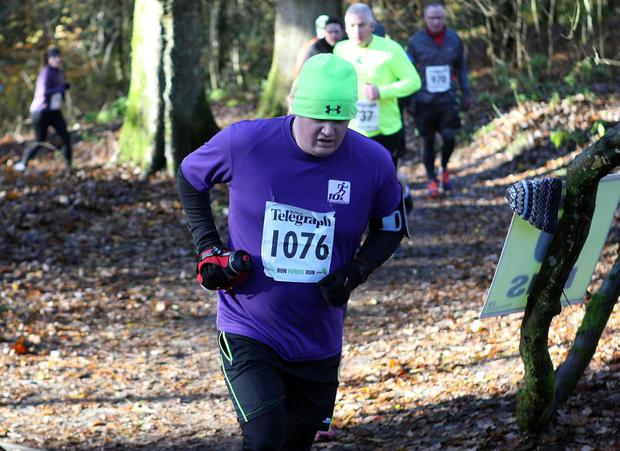 Mandatory Credit - Picture by Freddie Parkinson/Press Eye © Saturday 19th November 2016 Belfast Telegraph Run Forest Run Drum Manor Forest Park, Drum Road, Cookstown BT80 9RT Diarmuid	Sands  Craigavon