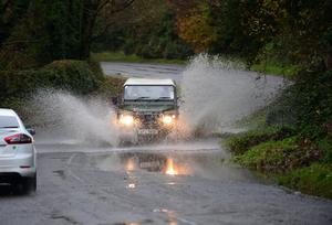 Northern Ireland is facing yet more stormy weather. Pic Arthur Allison