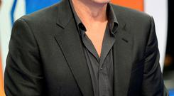 Silver lining: George Clooney's career took off as he was greying