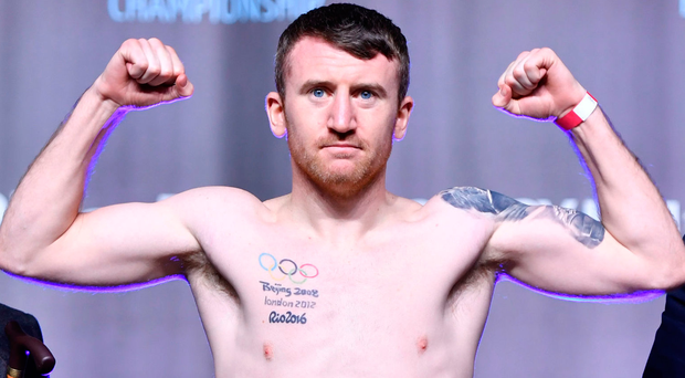 Bring it on: Paddy Barnes can't wait to get back into the ring