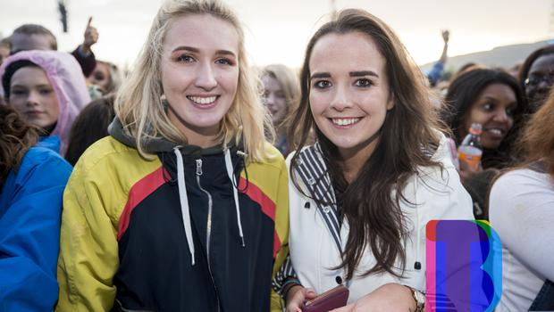 Fans out to see Ed Sheeran performing at Boucher Road Playing Fields, Belfast. Wednesday 9th May 2018. Picture by Liam McBurney/RAZORPIX