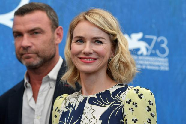 "Actors Liev Schreiber and Naomi Watts attend the photocall of the movie ""The Bleeder"" presented out of competition at the 73rd Venice Film Festival on September 2, 2016 at Venice Lido.TIZIANA FABI/AFP/Getty Images"
