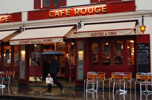Cafe Rouge in Basil Street, London (Fiona Hanson/PA)
