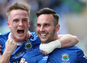 Aaron Burns and Andrew Waterworth will be keen to get on the score-sheet to get their season started at Windsor Park this evening.