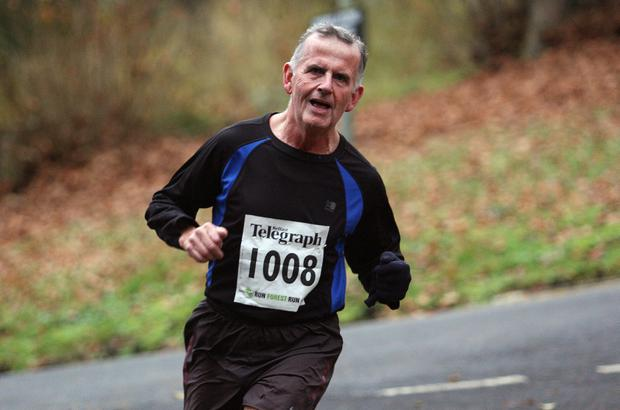 Mandatory Credit - Picture by Freddie Parkinson/Press Eye © Saturday 3rd December 2016 Belfast Telegraph Run Forest Run Loughgall. Loughgall Country Park, 11-14 Main Street, Loughgall, Armagh.  Brendan Connolly 10K Rostrevor